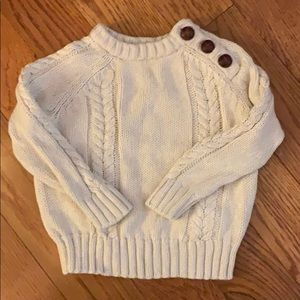 🎁BOGO$1 Baby boys Old Navy cable knit sweater